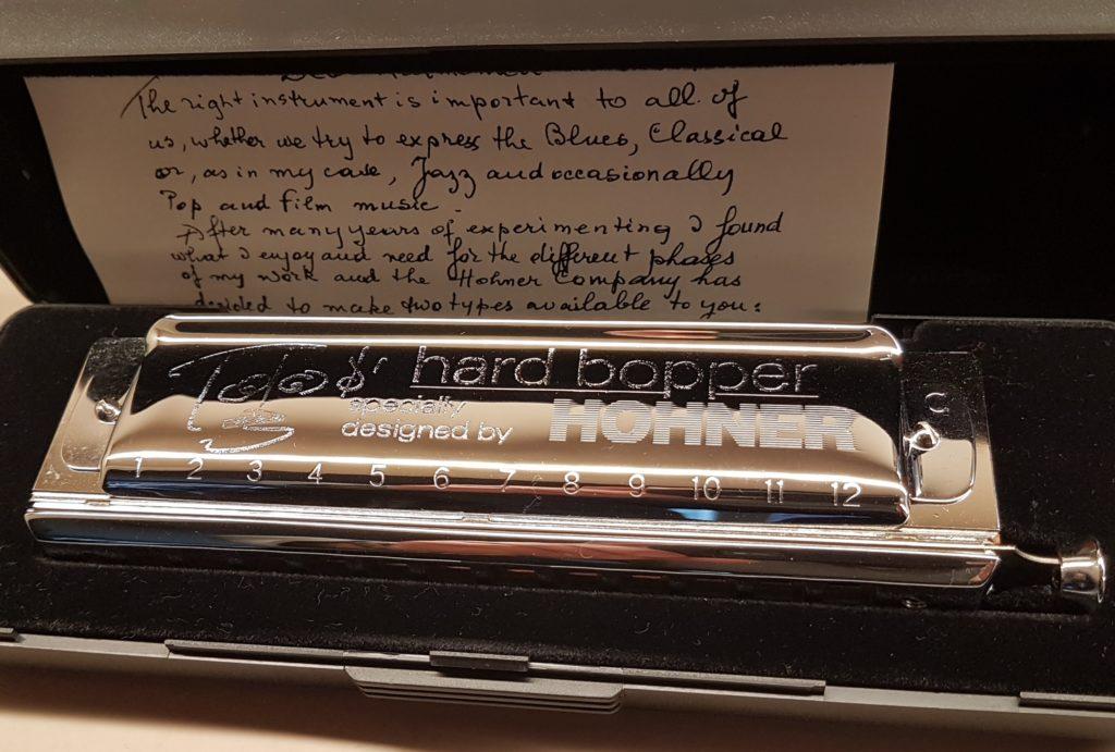 Mondharmonica Toots Thielemans Hard Bopper