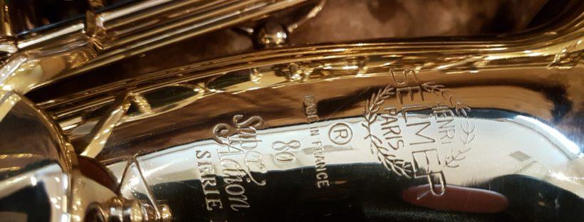 Saxofoon alt Selmer Super action serie II SA80II